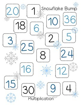Multiplication Snowflake Bump