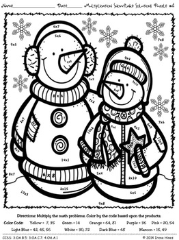 winter coloring pages math fractions - photo#5