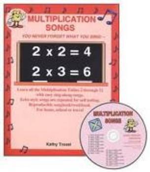 Multiplication Songs CD Kit by Kathy Troxel/Audio Memory