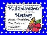 Multiplication Songs Mastery Bundle