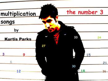 Multiplication Songs by Kurtis Parks - The Number 3