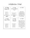 Multiplication Songs for Memorization