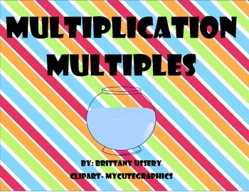 Multiplication Sort - Multiples