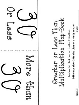 Multiplication Sorts - Facts 1-11