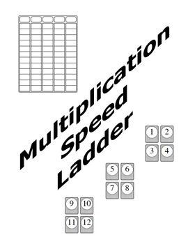 Multiplication Speed Ladder