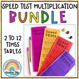 Multiplication Speed Test Booklets BUNDLE - Number Facts