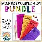 Multiplication Speed Test Booklets BUNDLE - Number Facts