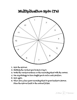 Multiplication Spin