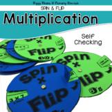 Multiplication {Spin & Flip}