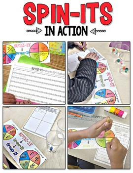 Multiplication Spin-Its Math Stations
