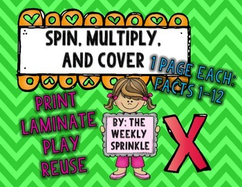 Multiplication Spin, Multiply, Cover