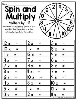 Multiplication: Spin and Multiply