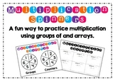 Multiplication Spinners - Groups of and arrays