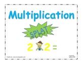 Multiplication Splat Game
