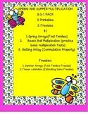 Multiplication Spring and Summer Fun Pack