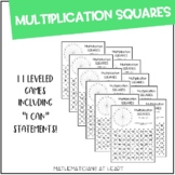 Multiplication Squares Bundle