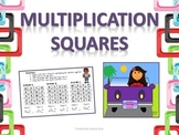Multiplication Squares - partner game