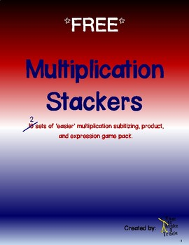 Multiplication Stackers FREE VERSION