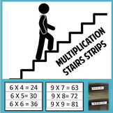 Multiplication Stair Strips