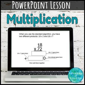 Multiplication Standard Algorithm PowerPoint