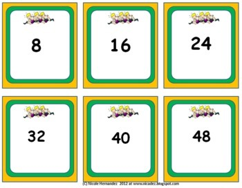 Multiplication Station - {Facts and Products}
