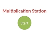 Multiplication Station A Interactive Powerpoint