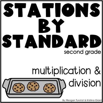Multiplication Stations Second Grade