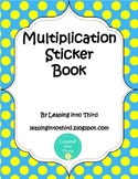 Multiplication Sticker Book