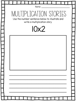 Multiplication Stories