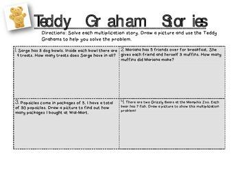 Multiplication Stories- Teddy Grahams