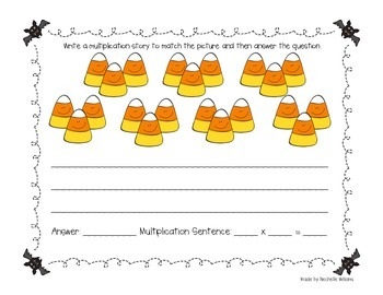 Multiplication Story Problem Cards