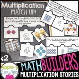 Multiplication Story Problem Match Up Game