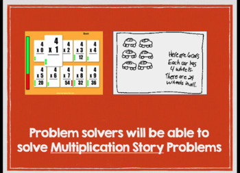 Multiplication Story Problems Keynote presentation