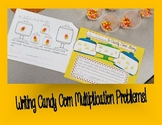 Multiplication Story Writing Candy Corn Craft
