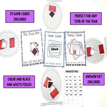 Multiplication Strategies Game