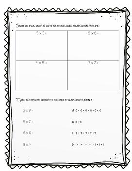 Multiplication Strategies Assessment