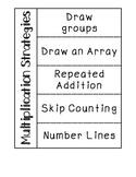 Multiplication Strategies BUNDLE