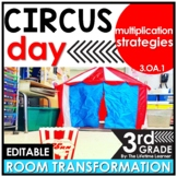 Multiplication Strategies Review - Circus Classroom Transformation
