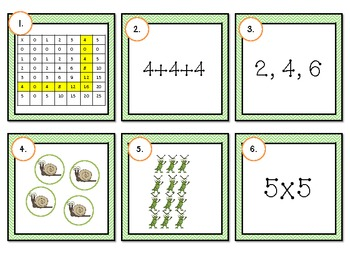 Multiplication Strategies: Common Core Activities and Games
