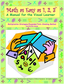 Multiplication Strategies (Expanded Form Stacking Method) 3rd/4th/5th Grade
