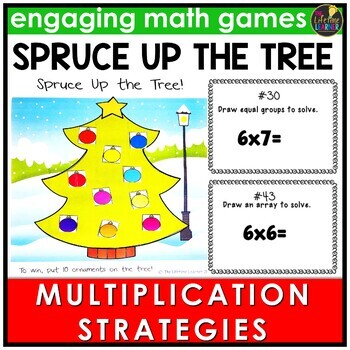 Multiplication Strategies Game