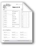 Multiplication Strategies, Grade 3: Mixed Strategies Practice