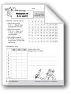 Multiplication Strategies, Grade 3: Multiples of 2,4,& 8