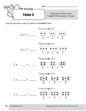 Multiplication Strategies, Grade 3: Times 3