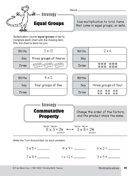 Multiplication Strategies, Grades 4-6+: Equal Groups