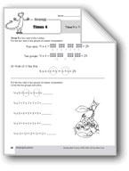 Multiplication Strategies, Grades 4-6+: Times 4