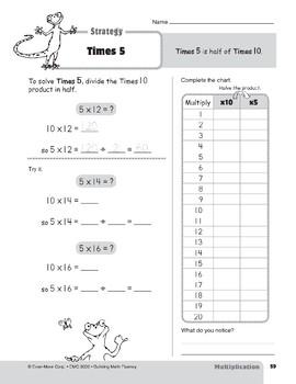 Multiplication Strategies, Grades 4-6+: Times 5
