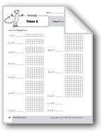 Multiplication Strategies, Grades 4-6+: Times 8