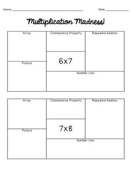 Multiplication Strategies Madness