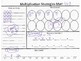 Multiplication Strategies Mat (hands on and concrete)